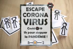 L'escape Covid-19 : activité confinement fun et ludique